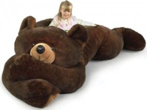 Peluche ours de grand taille