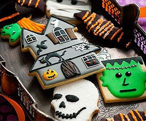 moules biscuits Halloween